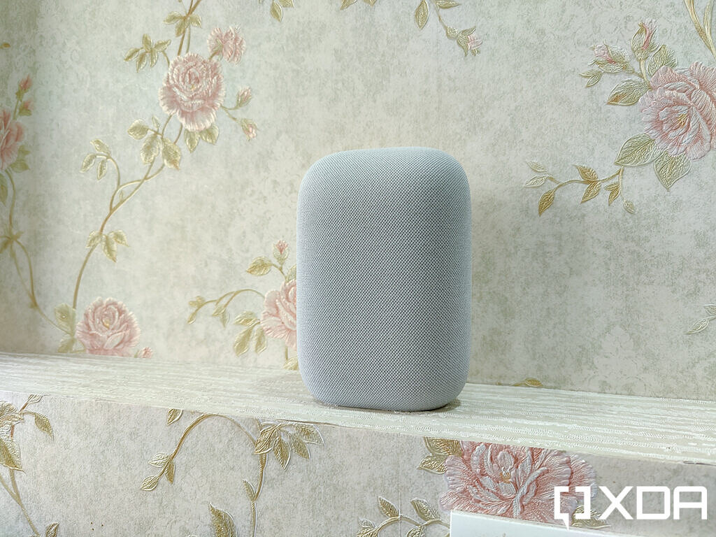 Google-Nest-Audio-XDA-Chalk-on-wall-unit