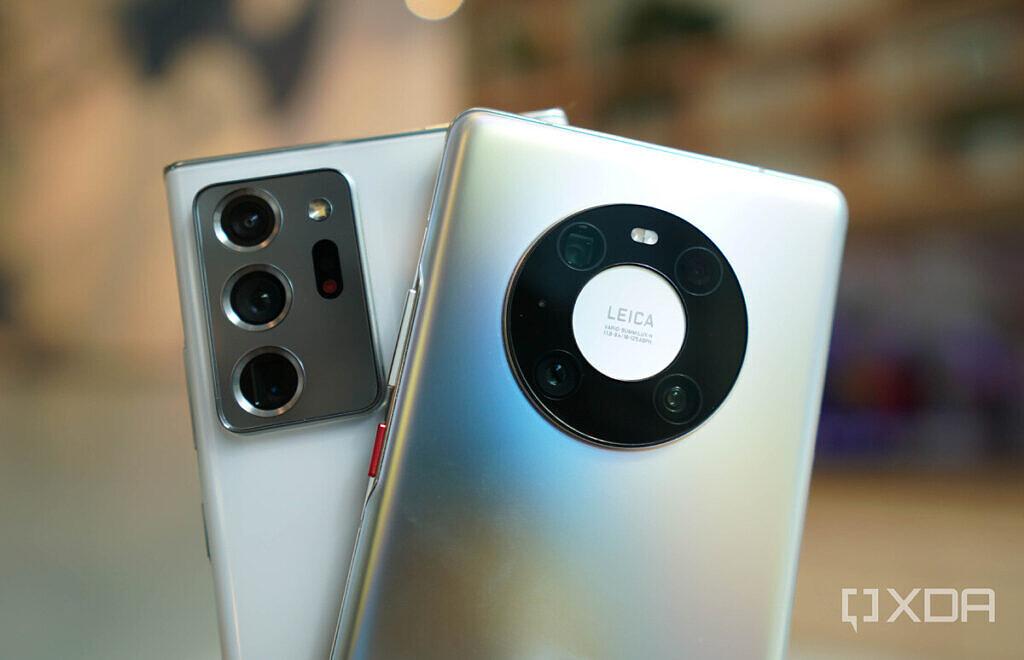 Huawei Mate 40 Pro and Samsung Galaxy Note 20 Ultra