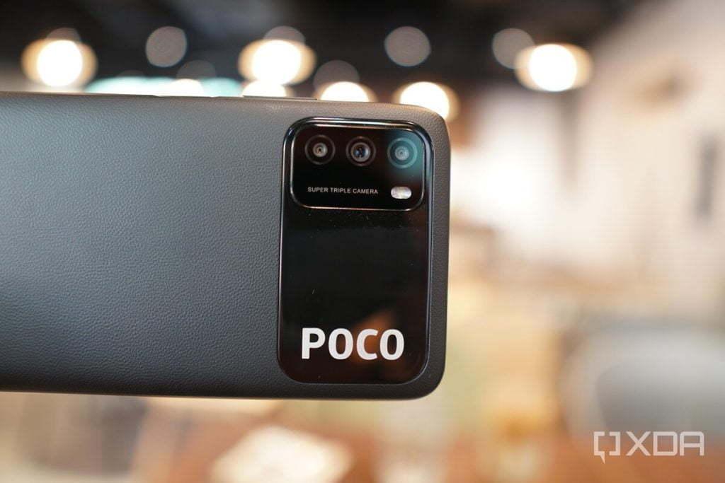 وحدة الكاميرا POCO M3