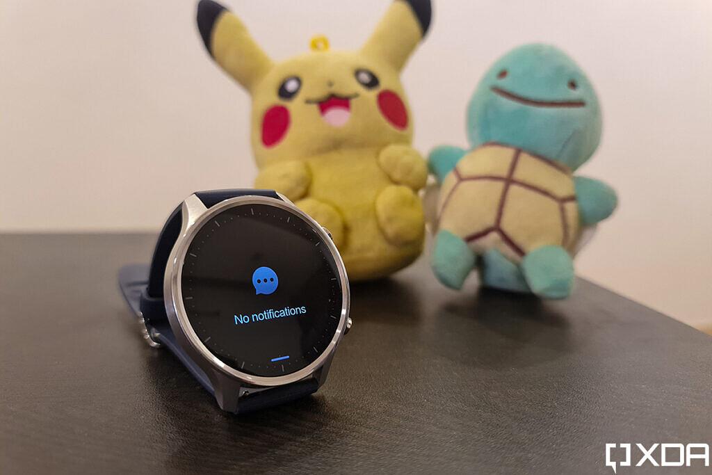 Xiaomi Mi Watch Revolve استعراض إشعارات الظل