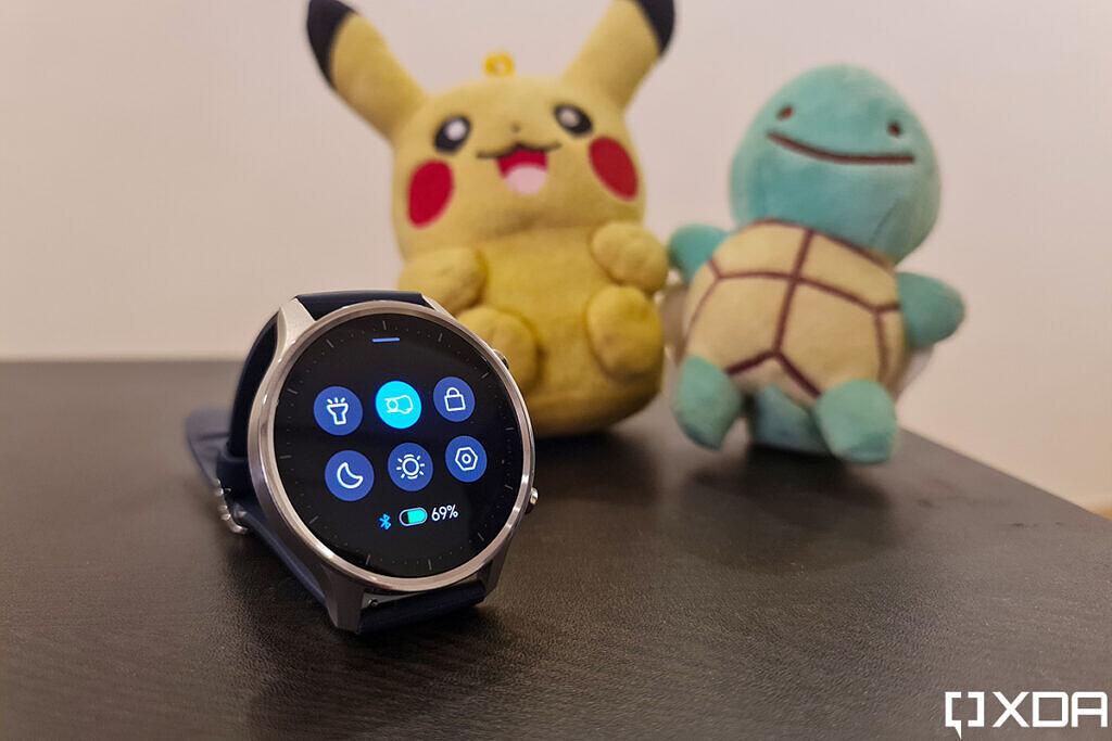 Xiaomi Mi Watch Revolve مراجعة لوحة الإعدادات السريعة