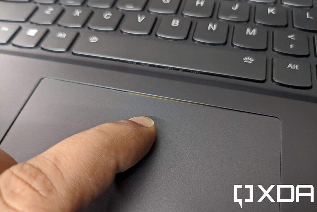 lenovo legion 7i touchpad