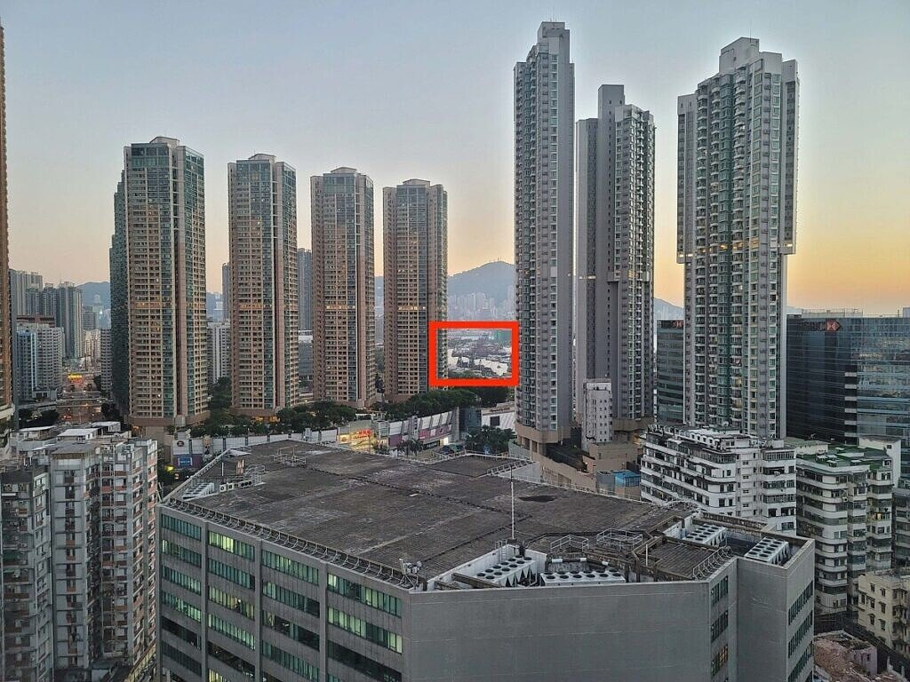 Reference shot of the Hong Kong skyline