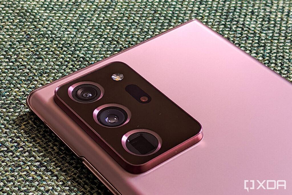 samsung galaxy note 20 ultra bronze camera review