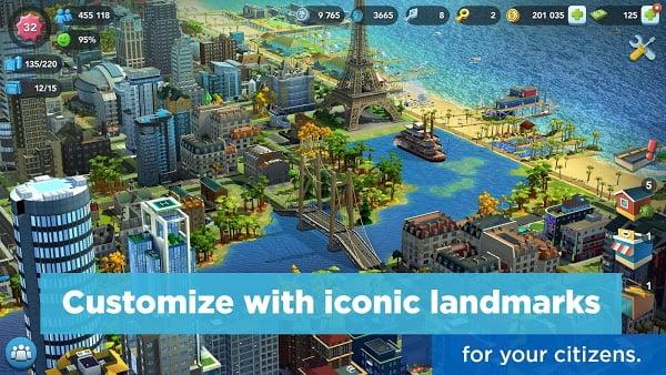لعبة SimCity BuildIt Mod تحميل اخر اصدار 2021 كاملة 2