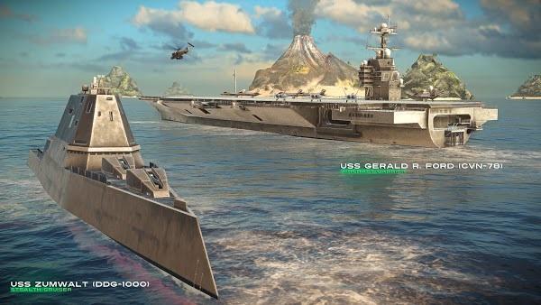 لعبة Modern Warships Mod تحميل اخر اصدار 2021 كاملة 1