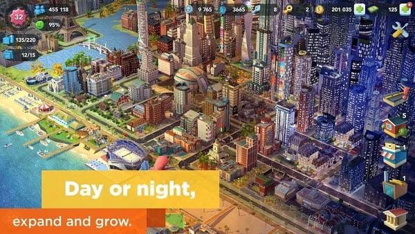 لعبة SimCity BuildIt Mod تحميل اخر اصدار 2021 كاملة 1