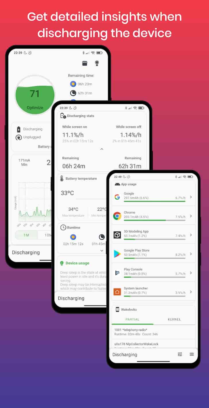 برنامج BatteryGuru MOD APK – Battery Monitor & Saver تحميل اخر اصدار 2021 كاملة 1