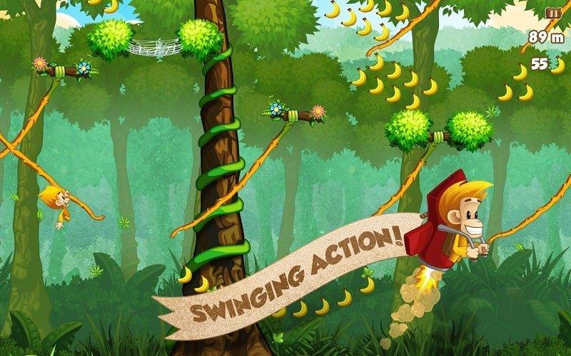 لعبة Benji Bananas MOD تحميل اخر اصدار 2021 كاملة 2