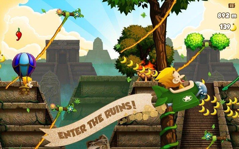 لعبة Benji Bananas MOD تحميل اخر اصدار 2021 كاملة 1