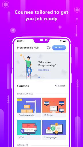برنامج Learn HTML Pro MOD APK by Coding and Programming تحميل اخر اصدار 2021 كاملة 1