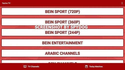 برمامج Yacine TV MOD تحميل اخر اصدار 2021 كاملة 1