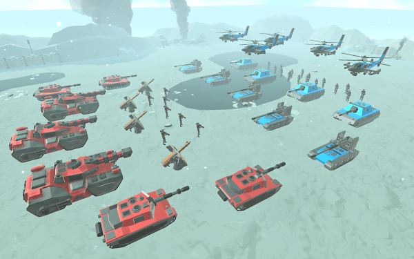 لعبة Army Battle Simulator Mod تحميل اخر اصدار 2021 كاملة 2