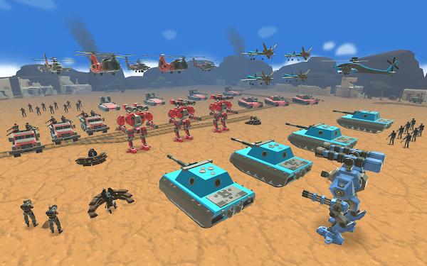 لعبة Army Battle Simulator Mod تحميل اخر اصدار 2021 كاملة 1