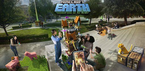 لعبة Minecraft Earth Mod تحميل اخر اصدار 2021 كاملة 2