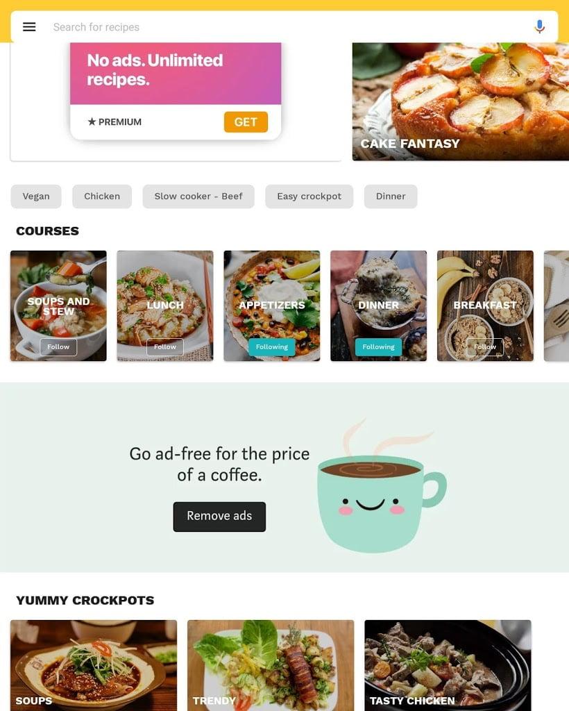 لعبة Crockpot recipes Premium MOD APK تحميل اخر اصدار 2021 كاملة 2
