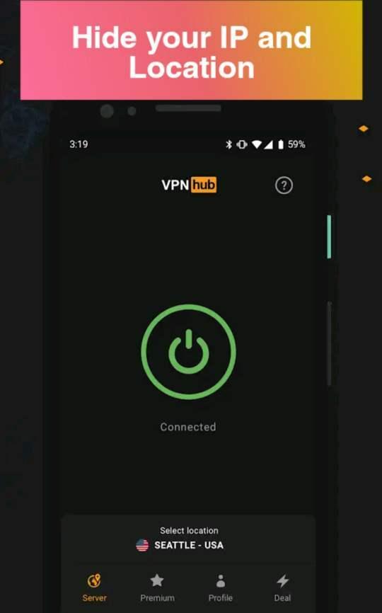 تحميل VPNhub Mod apk (بريميوم الأحدث) 3.8.6 أحدث اصدار 2021 1