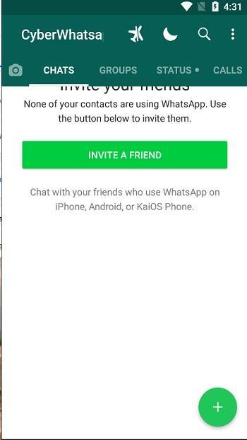 تحميل تطبيق سايبر واتساب Download Cyber WhatsApp 2021 كامل للاندرويد 2
