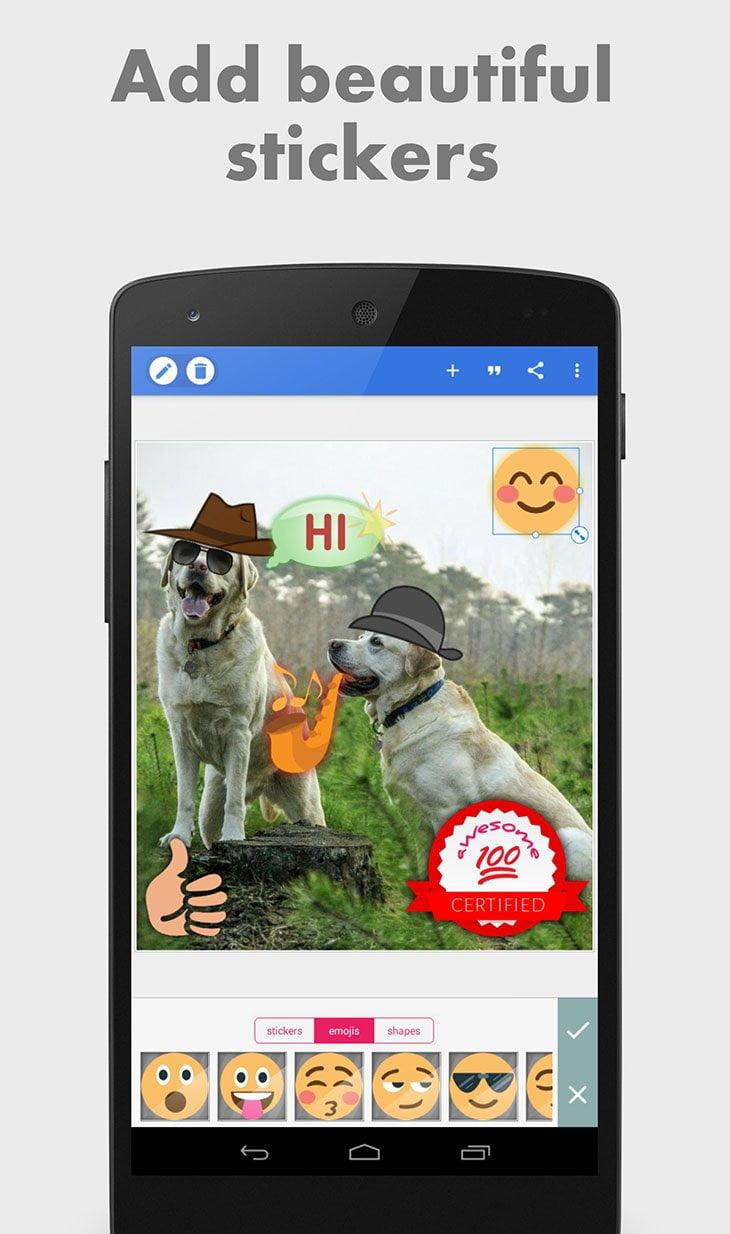 تحميل تطبيق الكتابة على الصور الاحترافى PixelLab Text on pictures بيكسلاب مجانا للاندرويد 2