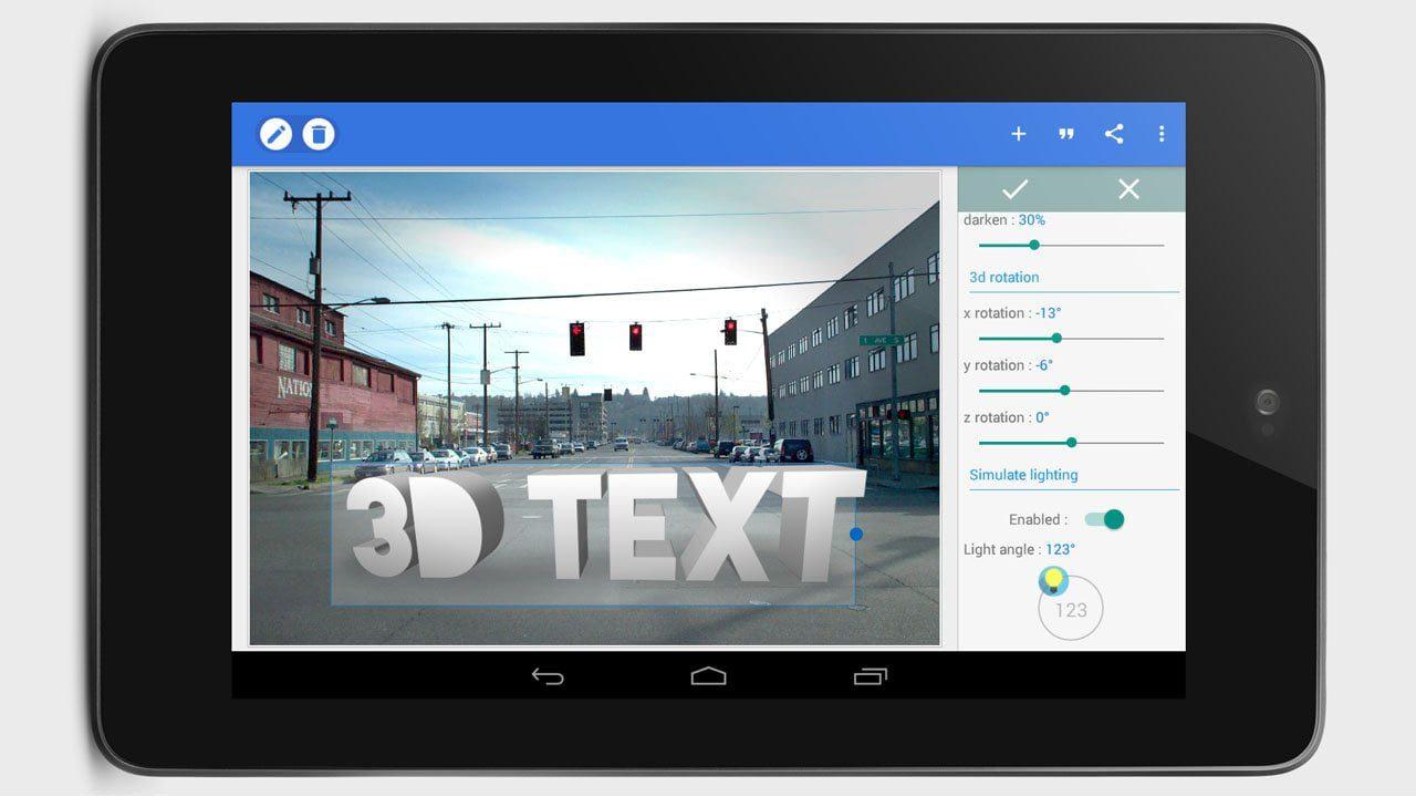 تحميل تطبيق الكتابة على الصور الاحترافى PixelLab Text on pictures بيكسلاب مجانا للاندرويد 1